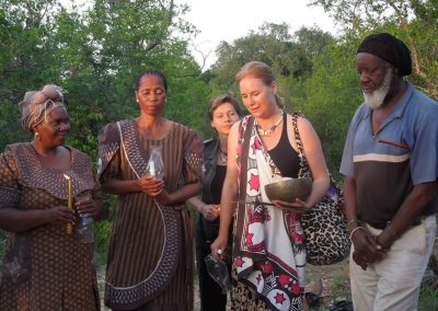 With Princess Kabelo Patron of the WLLA