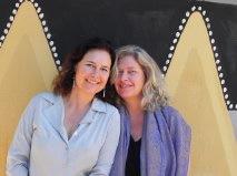 Linda Tucker with Mae Naude