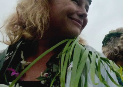 Warrior Linda Tucker presenting in Hawaii