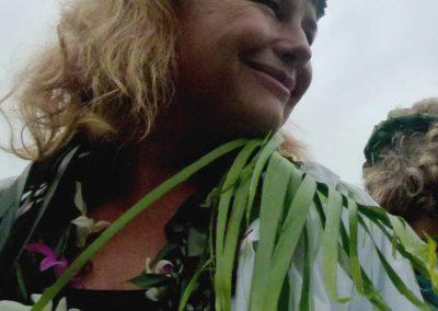 Warrior Linda Tucker presenting in Hawaii