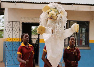 White Lion Puppet